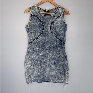 VINTAGE Sleeveless Jean Dress Sz M